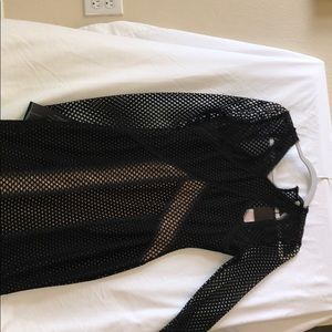 BCBG Fishnet Dress